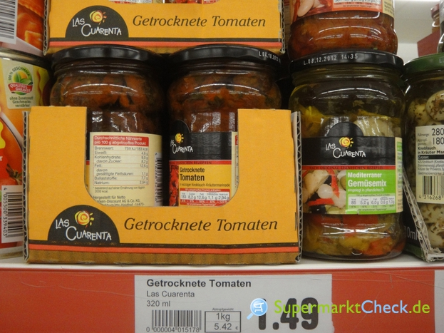 Foto von Las Cuarenta Getrocknete Tomaten