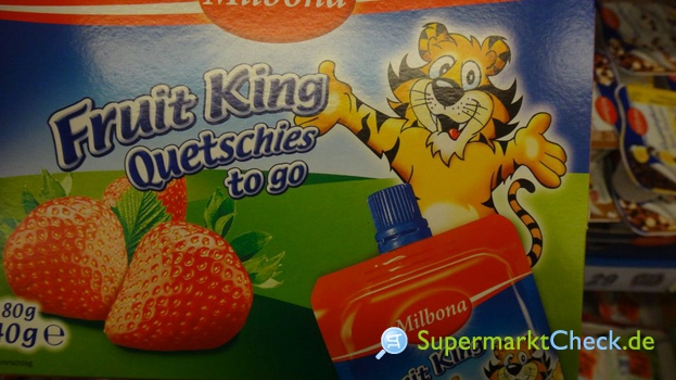 Foto von Milbona Fruit King Quetschies to go