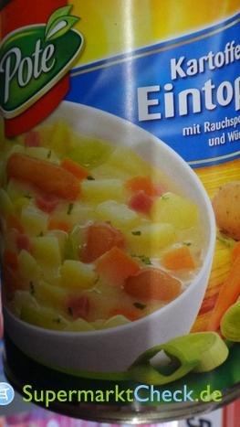 Foto von Pote Kartoffel-Eintopf