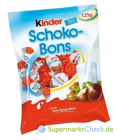 Foto von Kinder Schoko Bons