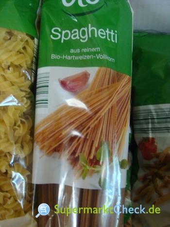 Foto von Aldi Süd bio Spaghetti Nudeln