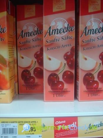 Foto von Amecke Sanfte Säfte Kirsch-Apfel
