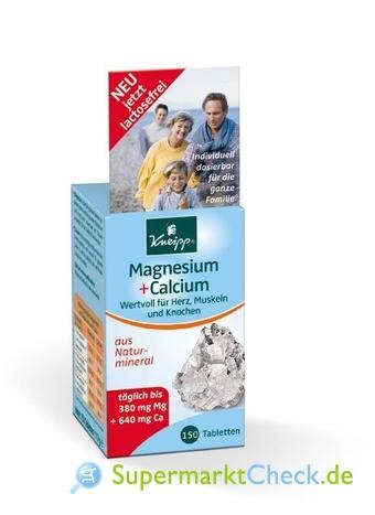 Foto von Kneipp Magnesium + Calcium Tabletten