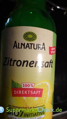 Foto von Alnatura Zitronensaft