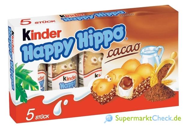Foto von Ferrero Kinder Happy Hippo Cacao