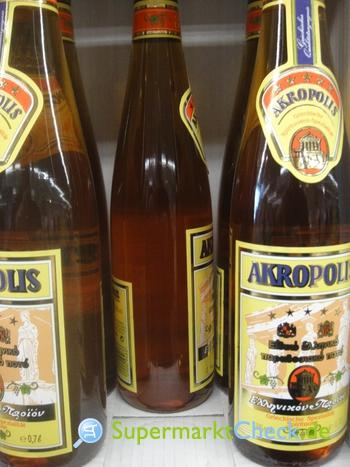Foto von Akropolis Griechischer Weinbrand