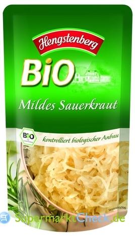 Foto von Hengstenberg Bio Mildes Sauerkraut