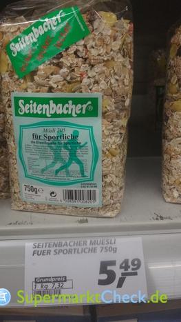 Foto von Seitenbacher Müsli 205