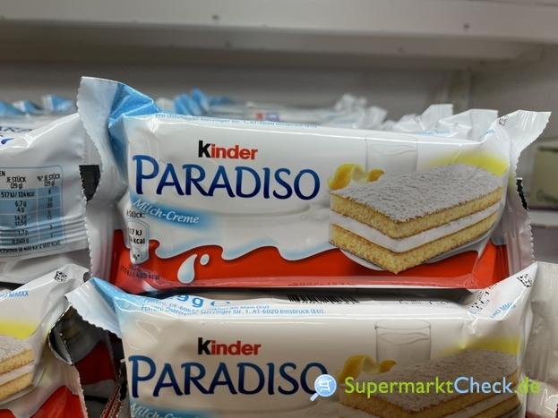 Foto von Ferrero Kinder Paradiso