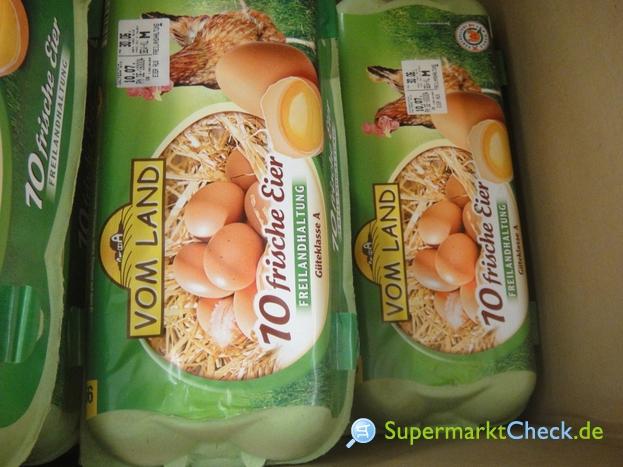 Foto von Vom Land / Netto 10 frische Eier aus Freilandhaltung