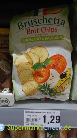 Foto von Leimer Bruschetta Brot Chips