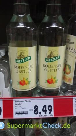 Foto von Metzler Bodensee Obstler