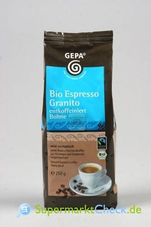 Foto von Gepa Espresso Granito Bio