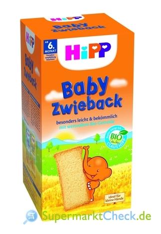 Foto von Hipp Baby Zwieback