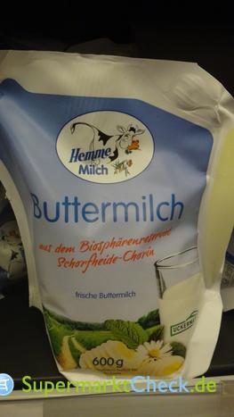 Foto von Hemme Milch Buttermilch