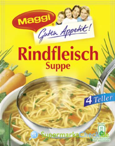 Foto von Maggi Guten Appetit Rindfleisch Suppe