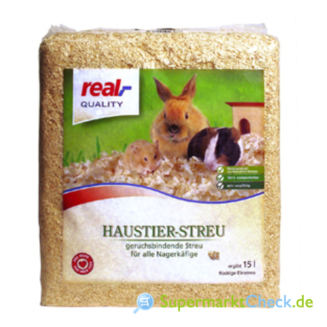 Foto von real Quality Haustier-Streu