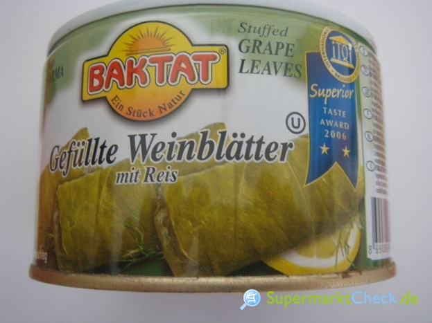 Foto von Baktat gefüllte Weinblätter