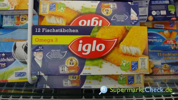 Foto von Iglo 12 Omega-3  Fischstäbchen