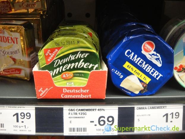 Foto von Gut & Günstig  Deutscher Camembert