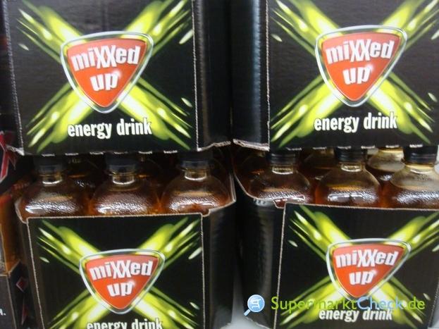 Foto von mixxed up energy drink