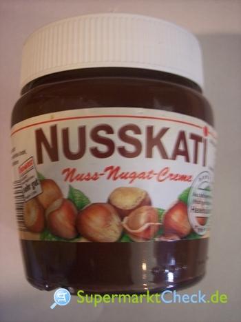 Foto von Nusskati Nuss Nougat Creme