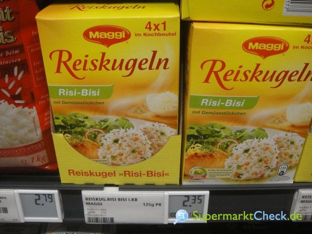 Foto von Maggi Reiskugeln Risi Bisi