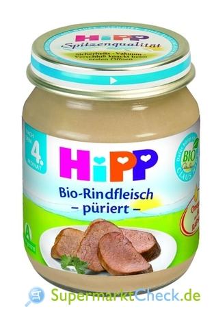 Foto von Hipp Bio-Rindfleisch