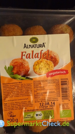 Foto von Alnatura Falafel