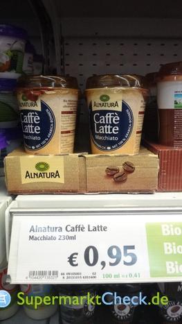 Foto von Alnatura Caffe Latte Macchiato