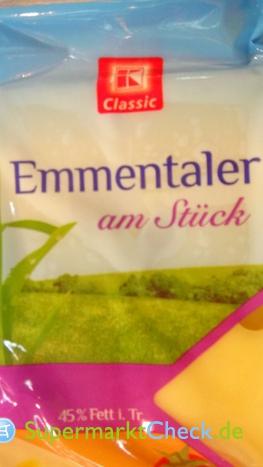Foto von K Classic Emmentaler am Stück