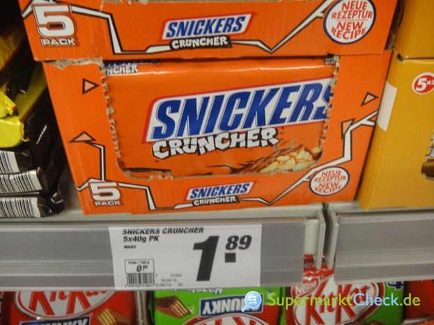 Foto von Snickers Cruncher