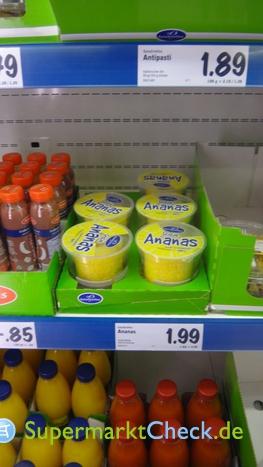 Foto von Saladinettes Frische Ananas verzehrfertig