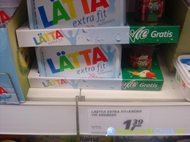 Foto von Lätta Halbfettmargarine extra fit