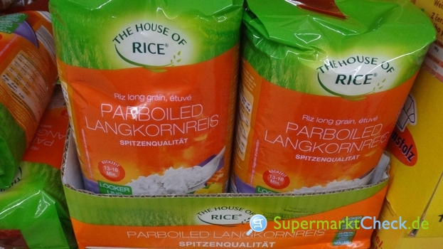 Foto von The House of Rice Parboiled Reis