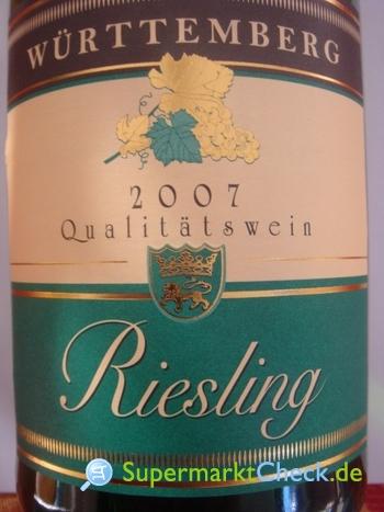 Foto von Württemberg Riesling