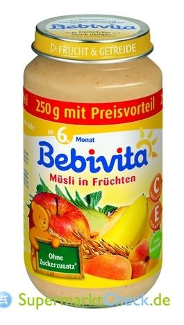 Foto von Bebivita Frucht & Getreide