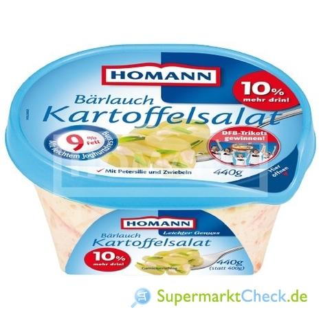 Foto von Homann Bärlauch Kartoffelsalat