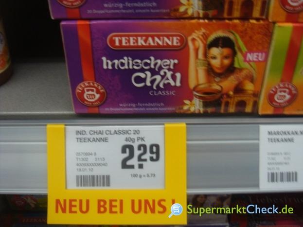 Foto von Teekanne Indischer Chai Classic