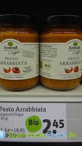 Foto von Alnatura Origin Pesto