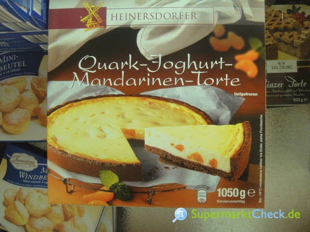 Foto von Heinersdorfer Quark Joghurt Mandarinen Torte