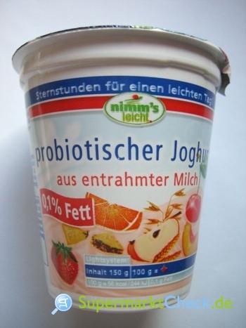 Foto von Nimms leicht Joghurt