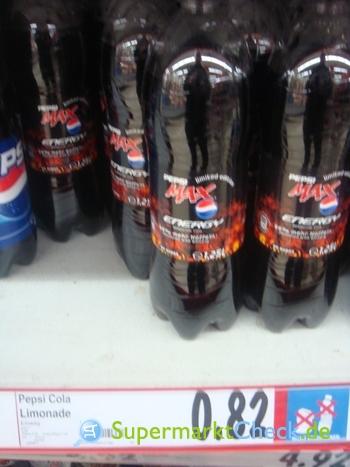 Foto von Pepsi Max Energy