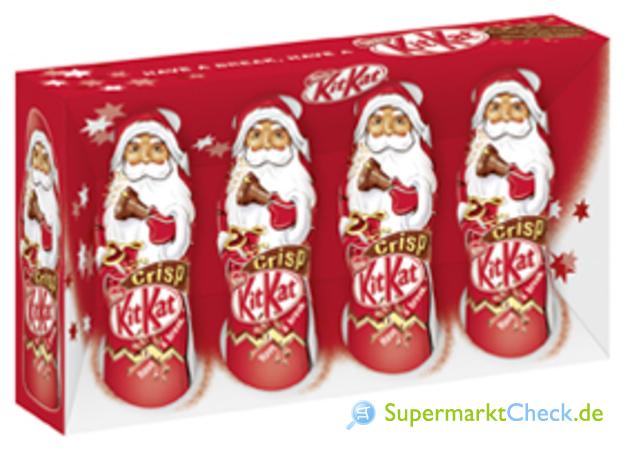Foto von Nestle Kit Kat Mini Weihnachtsmänner