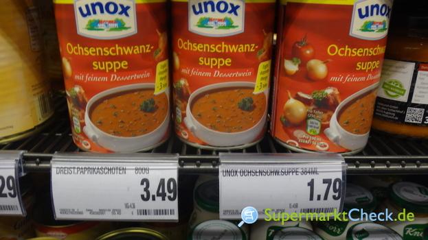 Foto von Unox Konzentrierte Suppen Ochsenschwanzsuppe