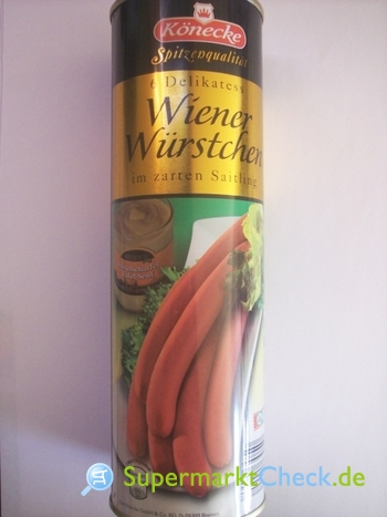 Foto von Könecke Wiener Würstchen
