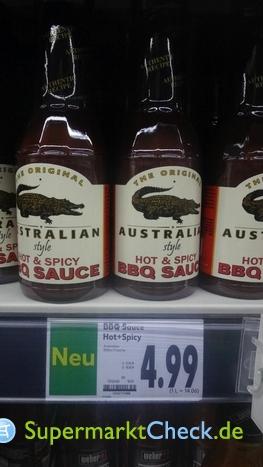 Foto von The Original Australien Hot & Spicy BBQsauce
