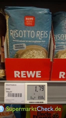 Foto von REWE Beste Wahl Risotto Reis