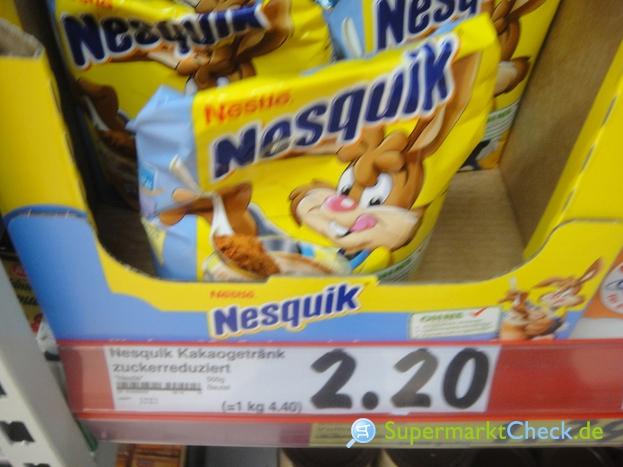 Foto von Nestle Nesquik Nachfüllbeutel
