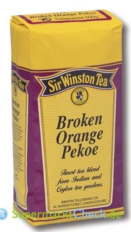 Foto von Sir Winston Tee Broken Orange Pekoe